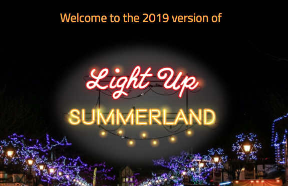 summerlandlightup - Dan Jones