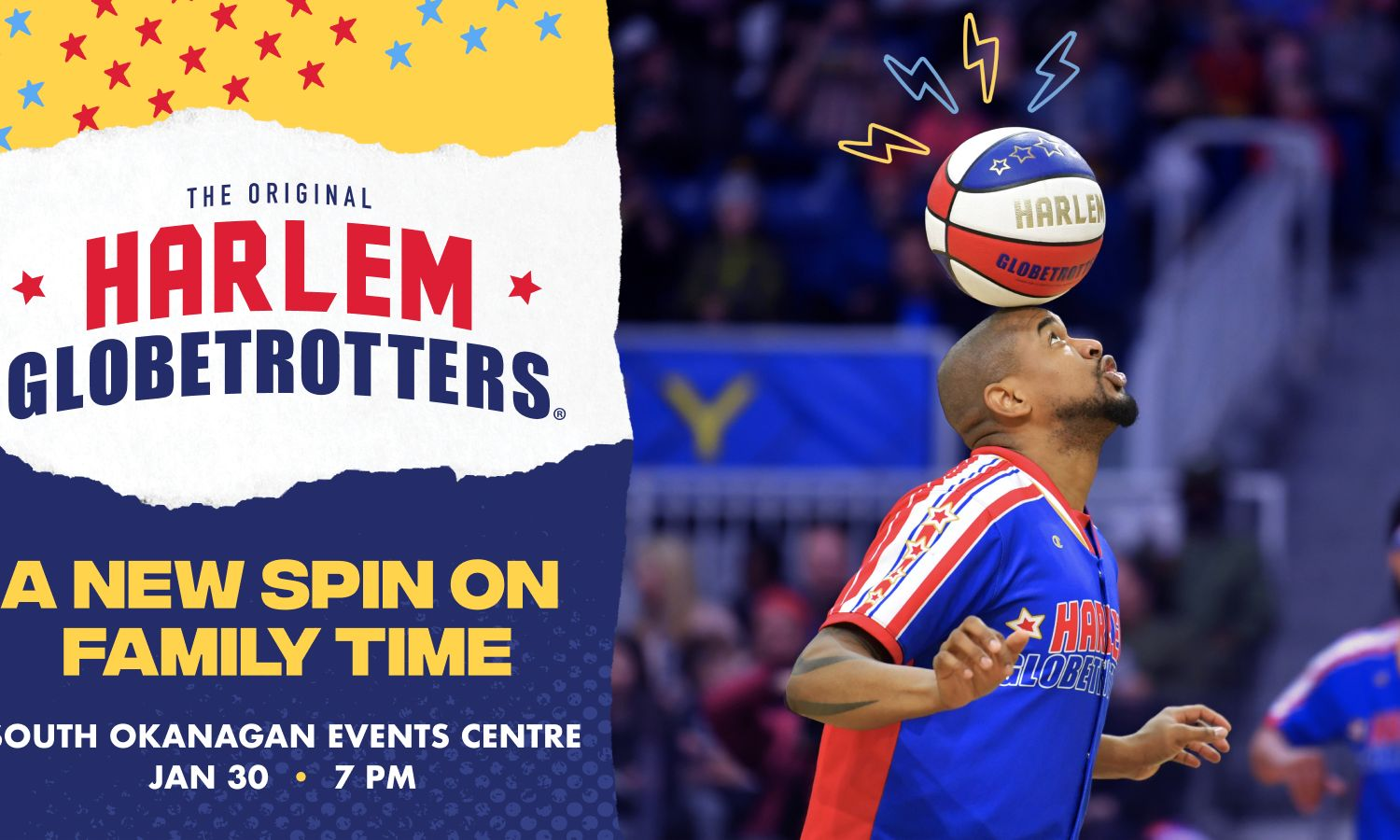 Harlem Globetrotters - Pushing the Limits - Dan Jones