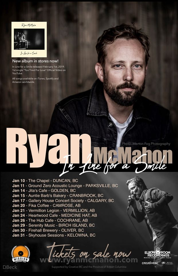 Ryan McMahon Concert - Dan Jones