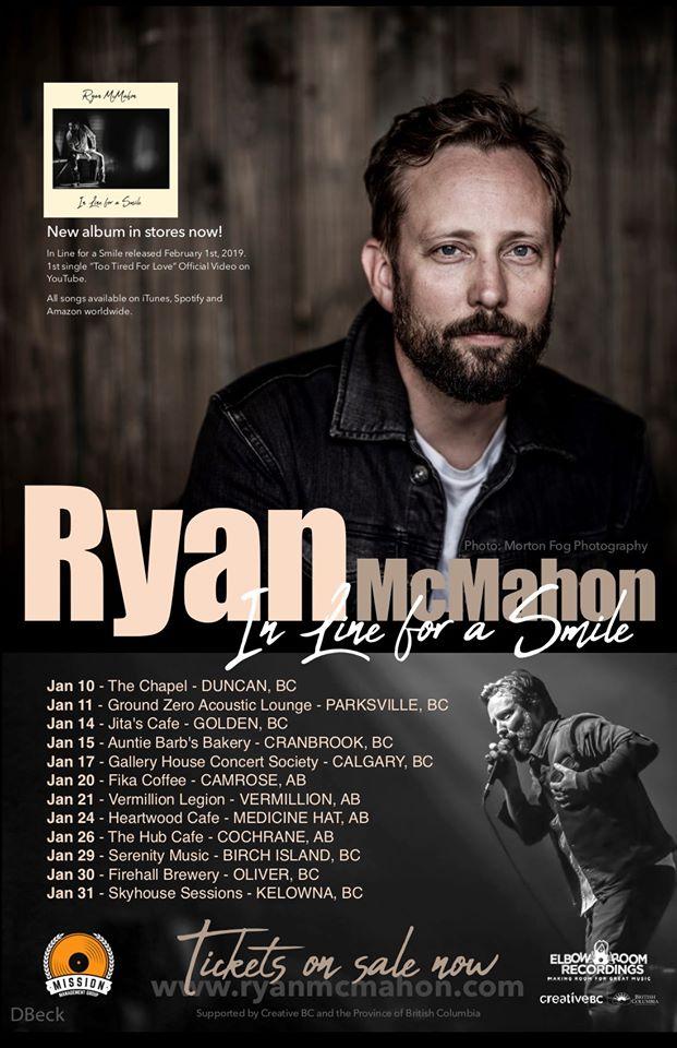 Ryan McMahon Concert - Dan Jones