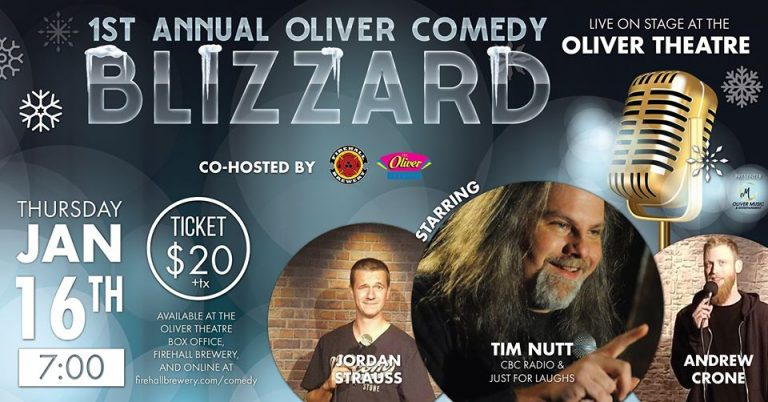 1ST ANNUAL OLIVER COMEDY BLIZZARD PRESENTED BY OM OLIVER MUSIC & ENTERTAINMENT - Dan Jones